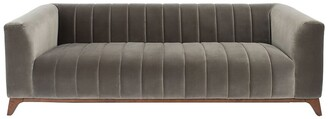 Safavieh Couture Dixie Channel Tufted Sofa