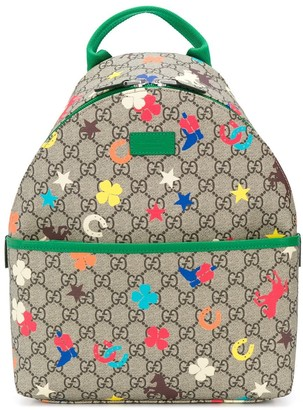 Gucci Kids GG print backpack