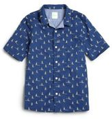 Scotch Shrunk Boy's Reversible Nautical Shirt
