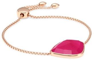 Monica Vinader Siren Nugget 18K Rose Gold Vermeil & Rose Quartz Chain Bracelet