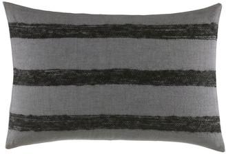 Vera Wang Shadow Stripe Linen Breakfast Pillow