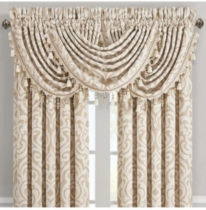 J Queen New York J Queen Milano Sand Waterfall Valance Bedding