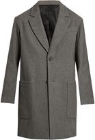 Ami Oversized wool-blend coat