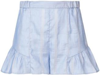 Lemlem Bekele flared shorts