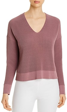 Eileen Fisher Petites V-Neck Sweater