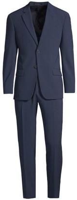 Emporio Armani 2-Piece Seersucker Suit