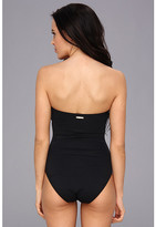 Vince Camuto Gilded Age Bandeau Maillot w/ Removable Soft Cups