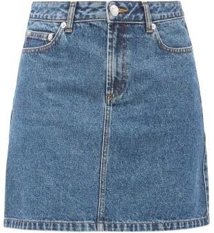A.P.C. Jupe Standard Denim Skirt - Denim