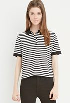 Forever 21 FOREVER 21+ Classic Striped Polo
