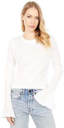 Free People Cecelia Tee (Evening Cream) Women's Clothing