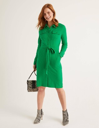 Rowena Jersey Shirt Dress