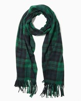 Charming charlie Tartan Plaid Blanket Scarf