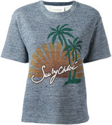 See by Chloe graphic print T-shirt