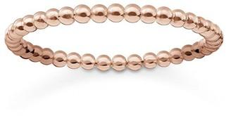 "Thomas Sabo Dots"" Gold Plated Rose Gold Ring (Size:52)"