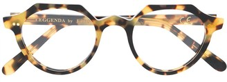Epos Round Frame Tortoise-Shell Glasses