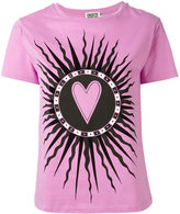 Fausto Puglisi 'Saint Heart' print T-shirt - women - Cotton - 40