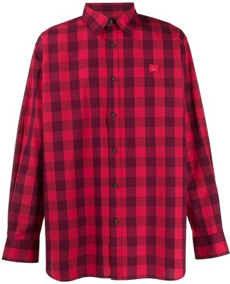Acne Studios Vichy-check shirt