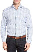 John W. Nordstrom R) Regular Fit Plaid Sport Shirt