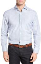 John W. Nordstrom R) Regular Fit Plaid Sport Shirt