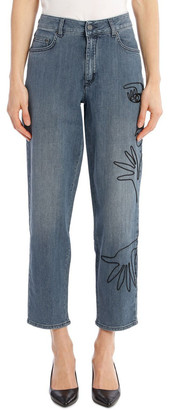 Moschino Mid Rise Jean