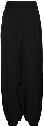 Alexandre Vauthier Cuffed Cropped Trousers