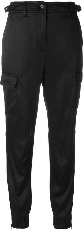 Jeremy Scott cropped trousers with pockets