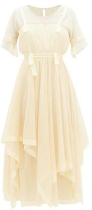 Mimi Prober - Susanna Layered Organic-cotton Tulle Dress - Womens - Ivory