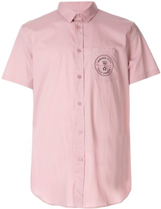 Versace Logo Print Shirt