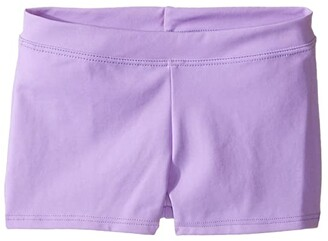 Capezio Team Basic Boycut Low Rise Shorts (Little Kids/Big Kids) (Black) Girl's Shorts