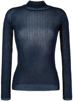 Carven fitted crew neck jumper