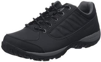 Columbia Men's RUCKEL RIDGE Hiking Shoes, Black (Black, City Gre), 50 EU