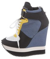 Ruthie Davis Minion Wedge Sneakers w/ Tags