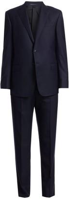 Giorgio Armani Single-Breasted Wool Suit