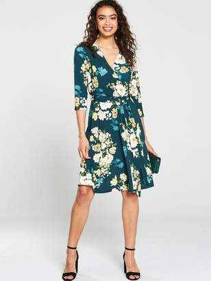 Wallis Winter Bouquet Fit And Flare Dress