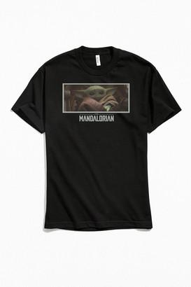 Urban Outfitters Star Wars The Mandalorian Baby Yoda Photo Tee