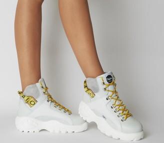 Buffalo David Bitton Giselle Sneaker Boots White
