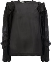 Dries Van Noten ruffled sleeves blouse