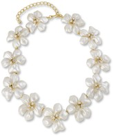 The Well Appointed House Kenneth Jay Lane White Pearl Flower Necklace - IN STOCK IN OUR GREENWICH STORE FOR QUICK SHIPPING