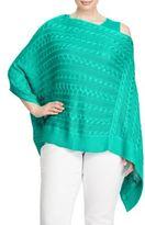 Lauren Ralph Lauren Cable-Knit V-Neck Sweater