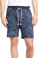 Sol Angeles Men's Inverse Palm Print Cutoff Knit Shorts