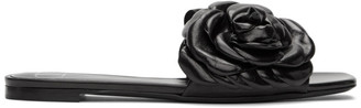 Valentino Black Garavani 03 Rose Edition Atelier Petal Flat Sandals