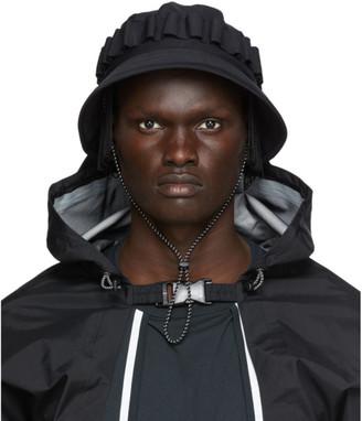 SASQUATCHfabrix. Black Fringe Jungle Bucket Hat