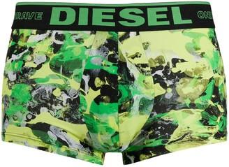 Diesel Painted Camouflage Prin Boxers