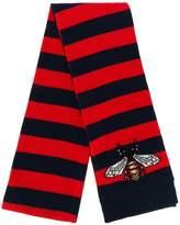 Gucci Bee striped scarf