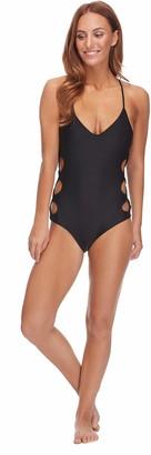Body Glove Women's Smoothies Crissy Multi Strap One Piece Swimsuit Swimwear