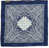Ralph Lauren RRL Indigo Cotton Pocket Square