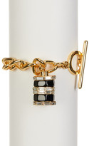 Trina Turk Color Charm Curb Chain Bracelet
