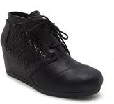 Qupid Black Olee Ankle Boot