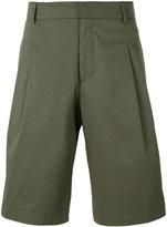 Les Hommes side stripe shorts - men - Cotton/Elastodiene - 48