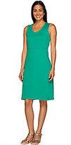 As Is Liz Claiborne New York U-Neck Sleeveless Dress